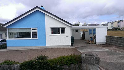 Exterior painting anglesey